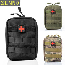 Mini Pouch Travel First Aid Kit Survie Portable Survival Tactical Emergency Bag Military Medical Quick Pack