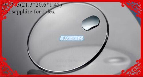Бесплатная Доставка 1 шт. Плоское Сапфировое Стекло для R-69173 с Календарем и Прокладка для Ремонта Часов
