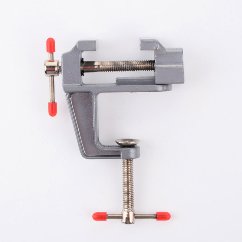 Professional Aluminum Mini Vice Durable For Jewelers Hobby Portable Table Clamp-On Vise Bench Universal DIY Fixed Repair Tools inherent vice