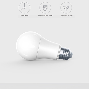 Image 5 - Aqara Smart bulb 9W E27 2700K 6500K 806lum Smart tunable White Color LED lamp Light Work Home Kit and for Smart Home App