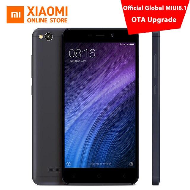 Xiaomi Redmi 4A мобильный телефон Snapdragon 425 Quad Core Процессор 2 ГБ Оперативная память 32 ГБ Встроенная память 5.0 дюймов 13.0MP камеры 3120 мАч Батарея