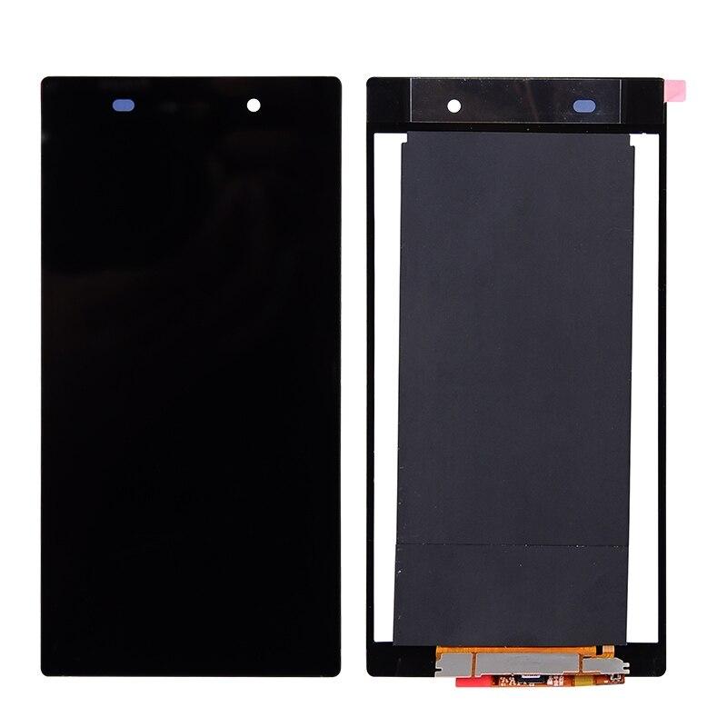 1 pc AAA 100% D'origine Aucune Tache Lumineuse et Aucune Rayure Écran LCD et Digitizer Assemblée de Remplacement Pour Sony Xperia z2