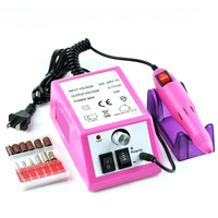 20000 RPM Broca Prego Máquina Elétrica Manicure Pedicure Polidor para A Remoção de Unhas de Gel Acrílico Kit de Ferramentas de Perfuração