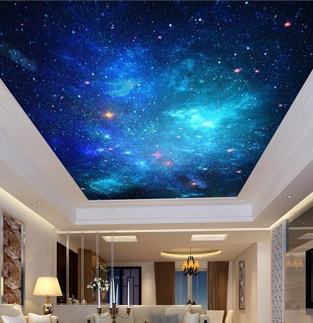 Comprar personalizado papel pintado techo - Vinilos para techos ...