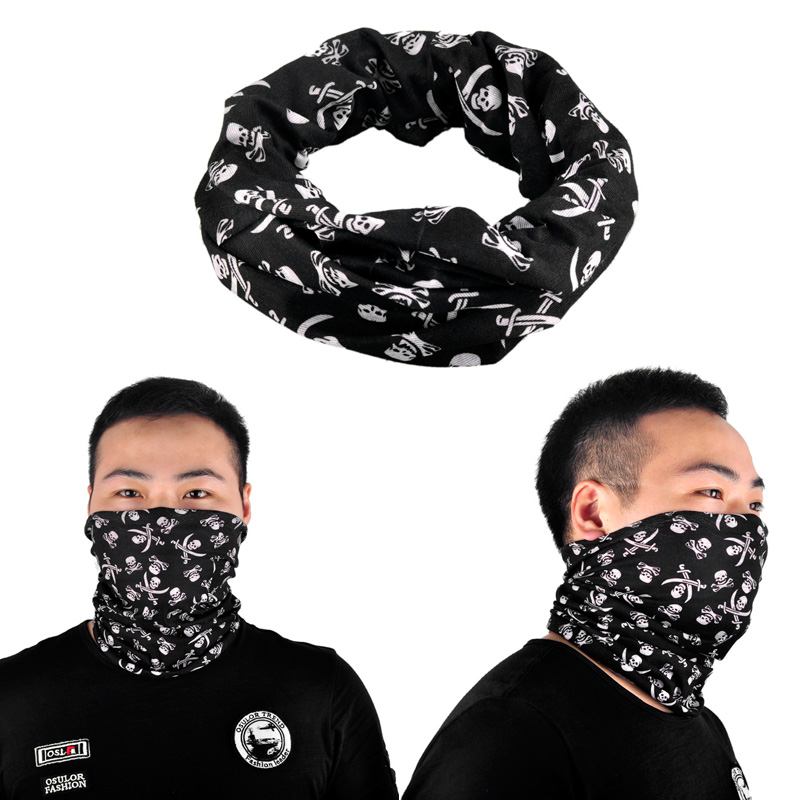 Outdoor Sport Riding Bicycle Motorcycle Headscarf Variety Turban Novelty Bandanas Magic Headband Multi Head Cycling Scarf Scarv