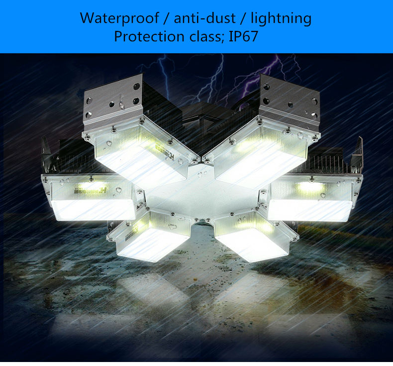 Led Building Mine Lighting Factory Floor Lights High Power 300W Cast Light Energy Saving Lights Ceiling Lamps Site Exploration