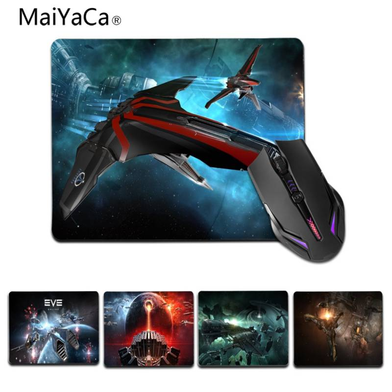 MaiYaCa My Favorite Game EVE Online Customized laptop Gaming small mouse pad Size 25x29cm 18x22cm Rubber Mousemats