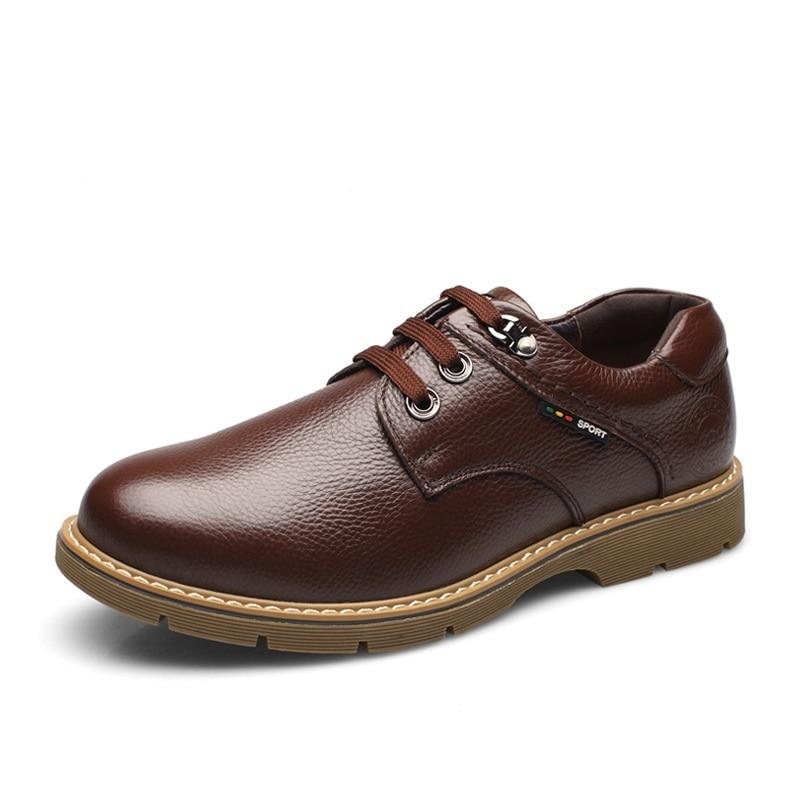 Pé Hombre Dedo Up Derby Sapatos Produto Couro Calzado Casamento Mycoron Dos marrom 2018 De Homens Do Preto Luxo Botas Novos Negócios Lace Redondo qnOwARPq