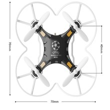 New FQ777-124 MINI DRONE 4CH 6AXIS GYRO RC QUADCOPTER Switchable Controller RTF UAV RC Helicopter Toys Mini Drones Gift Present