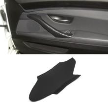 For BMW 5 Series F10 F18 2011 2012 2013 2014 2015 2016 2017 Microfiber Leather Car Interior Door Handle Panel Pull Trim Cover car door armrest panel microfiber leather for bmw 5 series f18 2010 2017