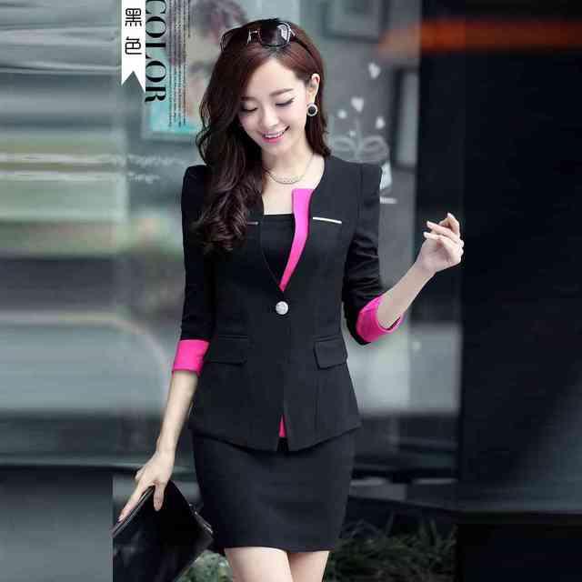 Slim Fit Womens Small Women Suit Dress Suits Women Business Wear