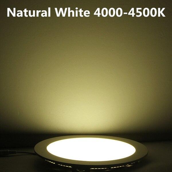 Downlights frio/natural/branco quente + driver Cor do Corpo : Branco