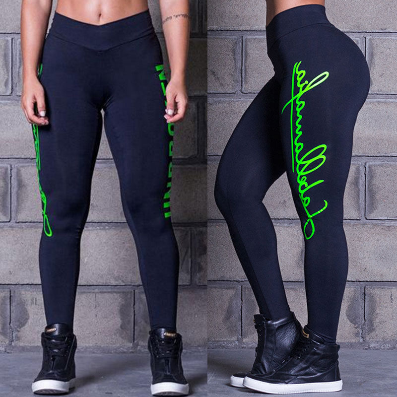 466d847490db8 Black Friday Deals 2017 New Women High Waist Yoga Fitness Leggings Running  Gym Stretch Sports Pants Trousers-in Yoga Pants from Sports & Entertainment  on ...