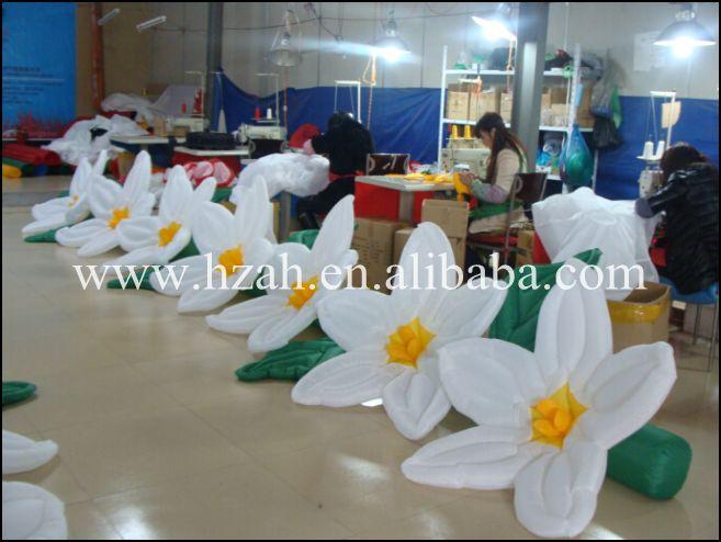 long inflatable flower inflatable flower chain vtronhye flower