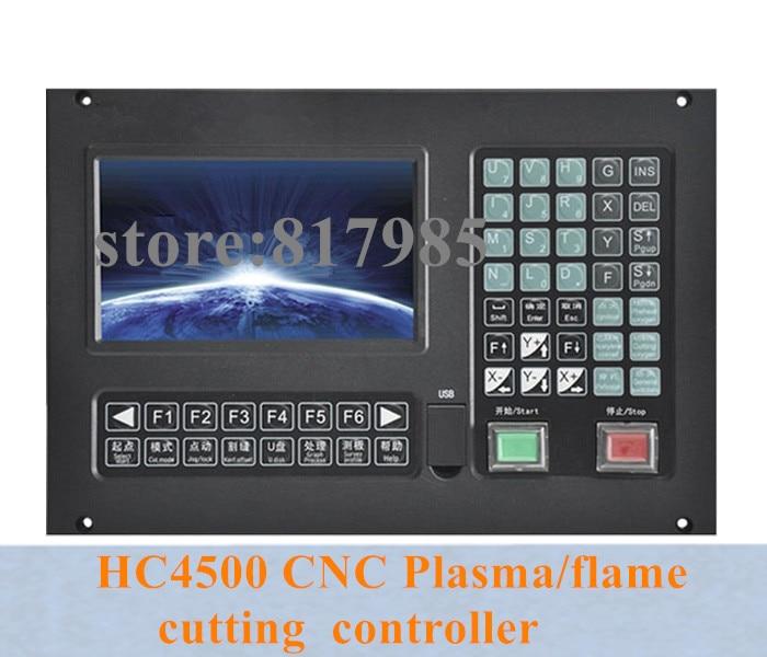 Orginal HC4500 3 axis CNC Plasma flame cutting machine controller cnc cutting controller support THC plasma