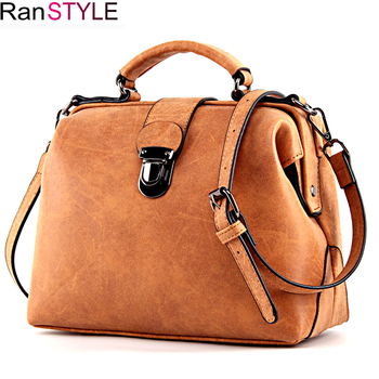 RANSTYLE handbag Matte Leather women bag Female Luxury shoulder Messenger Bag Women's Crossbody Ladies Hand Bags for Women 2018