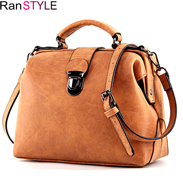 RANSTYLE handbag Matte Leather women bag Female Luxury shoulder Messenger Bag Women's Crossbody Ladies Hand Bags for Women 2018