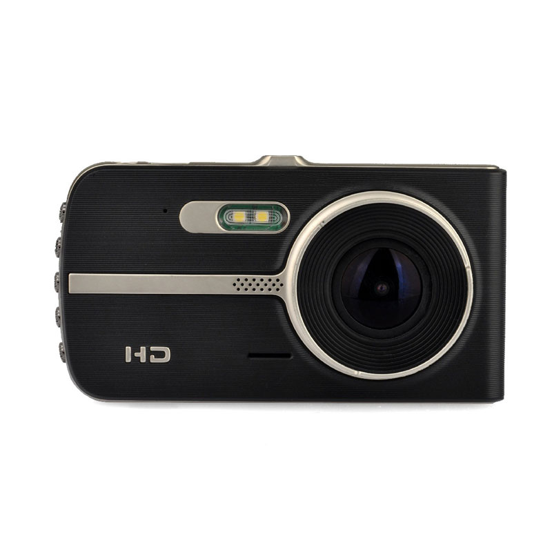 Dash Camera Car DVR 4 Ultra-high Night View Driving Recorder Wide Angle Car Recorder Metal Case Car DVR Dual Lens Car Camera