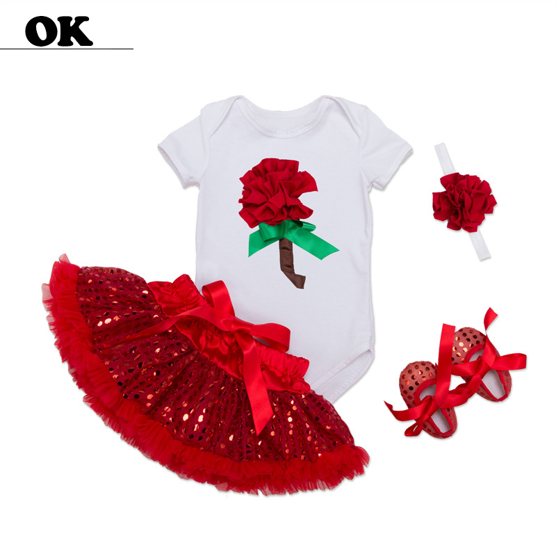 6-24M  Newborn Baby Girl Dresses Summer/spring Dress for Pure Cotton Ball Gown Sets