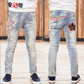 Children's Jeans Boys Denim Pants Fashion Casual Straight Jeans Trousers Male Cowboy  Trousers 2016 Autumn New Arrival