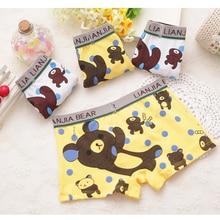 weLaken 4 Pcs lot Cartoon Children Underpants Comfortable Breathable Underwear Kids Boxer Baby Panties For 2