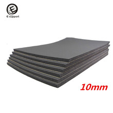EE support New 6 Sheets 10mm Car Van Sound Proofing Insulation Deadening Closed Cell Foam 30*50cm Auto Interior Accessories