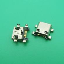 50 ชิ้น/ล็อตใหม่ Micro USB Charging Port Dock เชื่อมต่อซ็อกเก็ตสำหรับ Samsung J5 Prime On5 G5700 J7 Prime On7 g6100 G530 G532