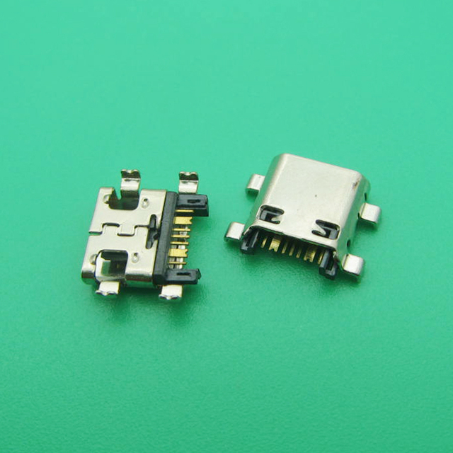 50 pçs/lote novo carregador micro usb porto de carregamento doca conector soquete para samsung j5 prime on5 g5700 j7 prime on7 g6100 g530 g532