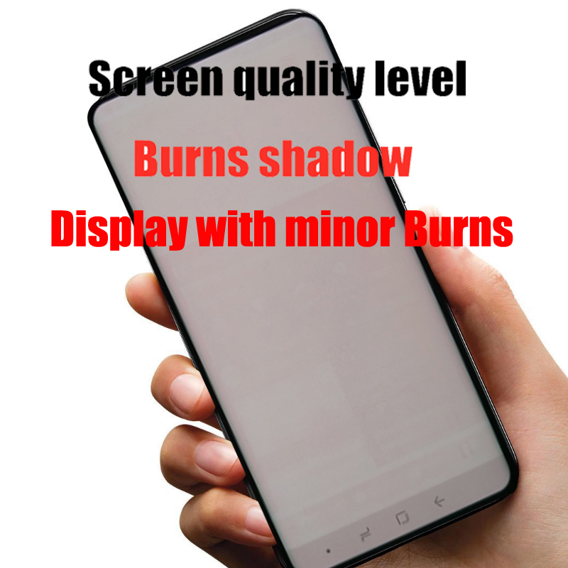 HTB1nqiGaRCw3KVjSZR0q6zcUpXaT Original Burn-Shadow Replacment For Samsung Galaxy S8 G950F G950U LCD S8 Plus G955 G955F Display Screen Touch Digitizer Assembly