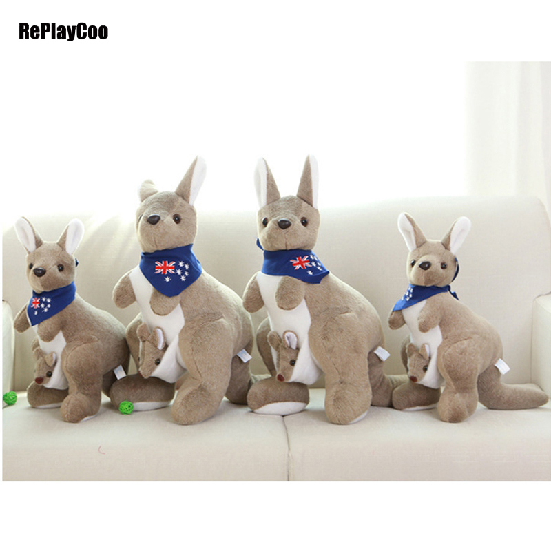 Cute Kangaroo Plush Toys Adora Doll Soft Cute Toy Kangaroos Stuffed