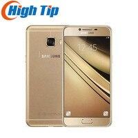 원래 삼성 갤럭시 C7 휴대 전화 4 그램 LTE 안드로이드 4 기가바이트 RAM 32/64 기가바이트 ROM 16MP 카메라 5.7 인치