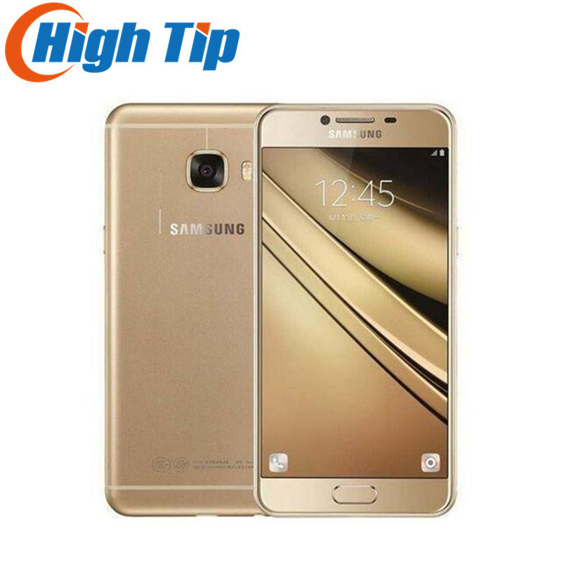 Original Samsung Galaxy C7 Mobile Phone 4G LTE Android 4GB RAM 32 64GB ROM 16MP Camera