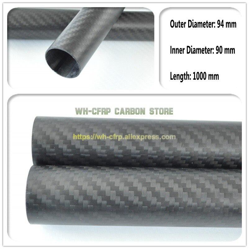 94 มม. x 90 มม. หลอดคาร์บอนไฟเบอร์ 3 k ยาว 1000 มม. (ม้วนห่อ) ท่อคาร์บอน, 100% เต็มรูปแบบ, ญี่ปุ่น 3 k ปรับปรุงวัสดุ-ใน ชิ้นส่วนและอุปกรณ์เสริม จาก ของเล่นและงานอดิเรก บน   1