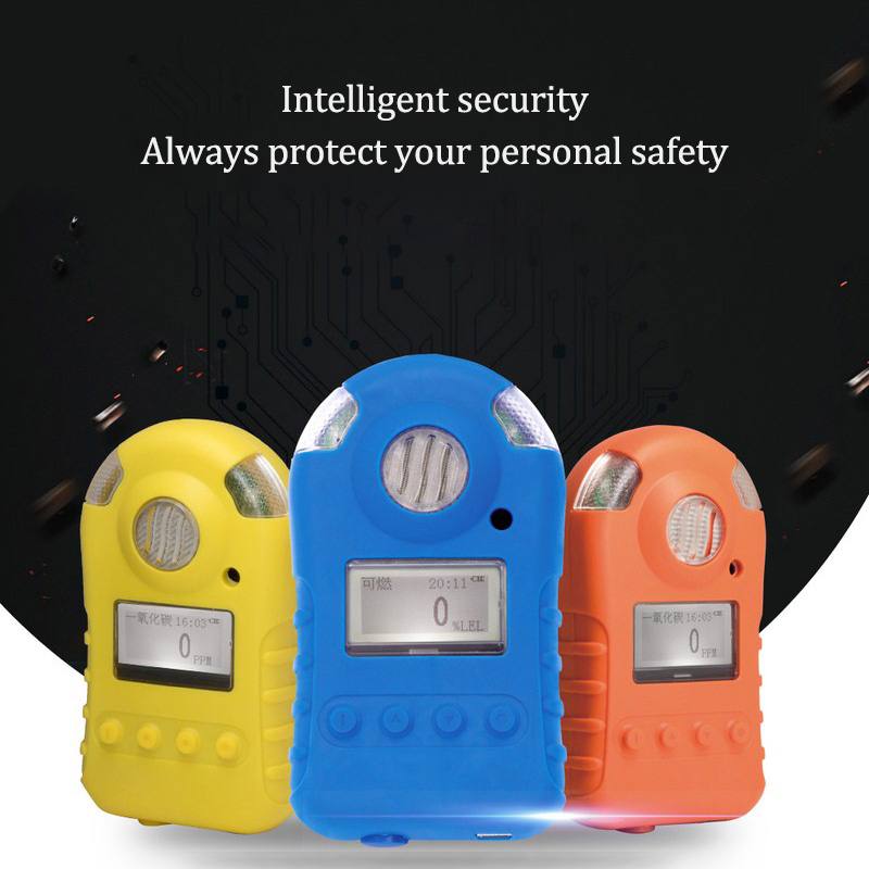 Cl2 Chlorine Gas Detector Gas Monitor with Sound Light Shock Alarm Cl2 Chlorine Gas Leak Detector