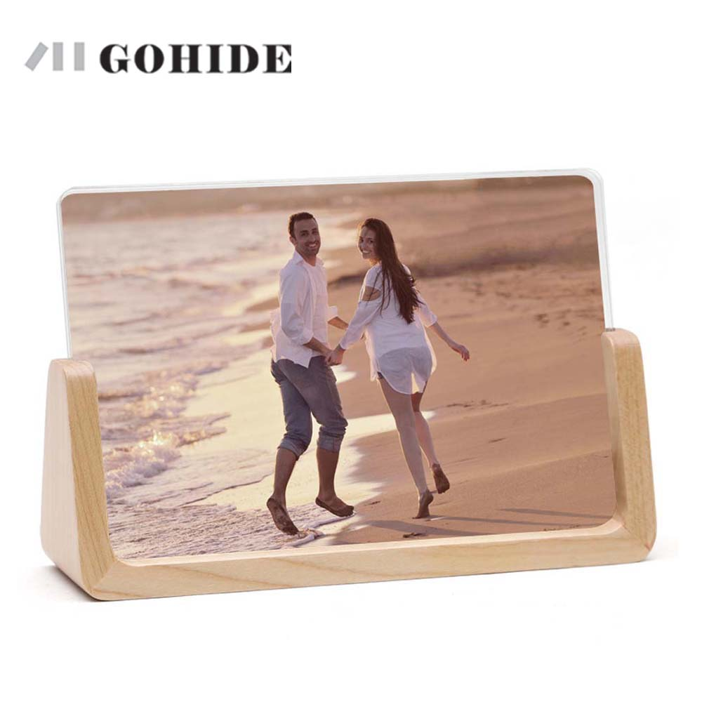 Flavor Dedicated Juhd A Wooden Photo Frame In 6/7 Inch European Style Acrylic Cover For Wedding Tableware Office Desk Using Color Option Zlcp Fragrant In