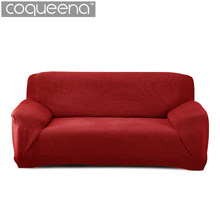 Modern Thick Sofa Covers Universal Stretch Elastic Sofa Slipcovers Living Room Sectional Couch Cover Velvet Corn Striped Pattern(China)