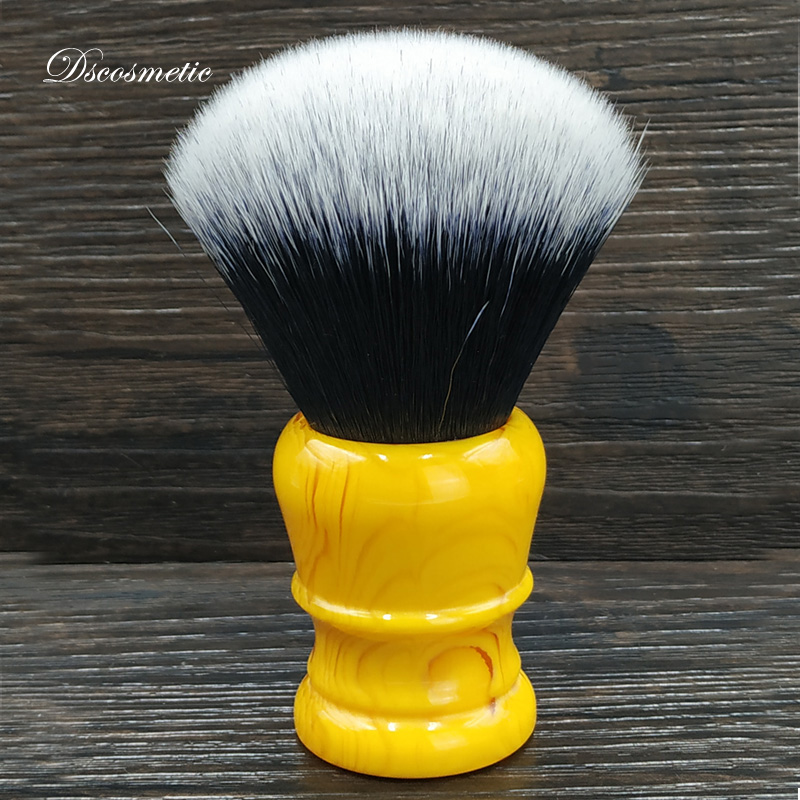 DS Synthetic Hair Shaving Brush 30mm Big Tuxedo Knot Resin Handle For Man Shave Tools