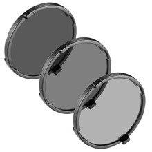 Neewer de densidade neutra conjunto filtro: filtro nd16 nd4 + nd8 filtro + filtro + filtro bolsa compatível com yuneec tufão 4 k/tufão h