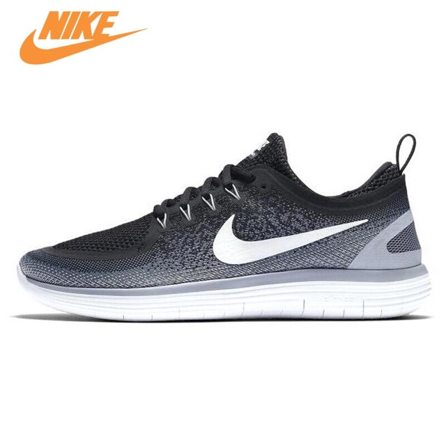 398e6aac3170 NIKE Original New Arrival Free Rn Distance 2 Men s Running Shoes Sneakers  Trainers