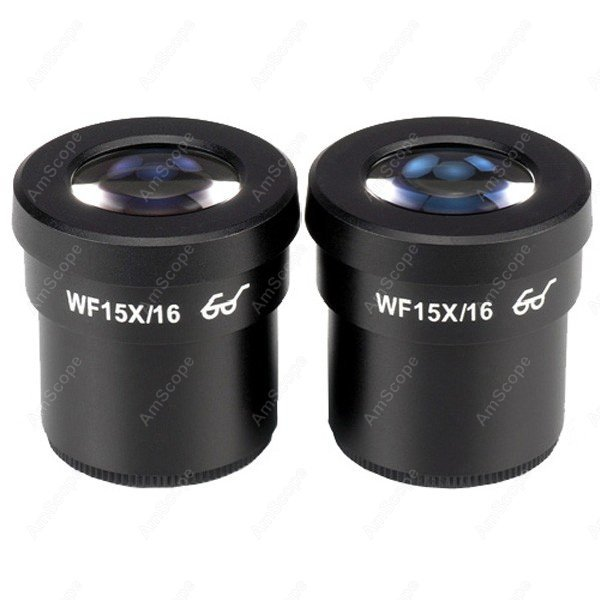 Microscope Eyepiece-AmScope Supplies Pair of Extreme Widefield 15X Eyepieces (30mm)  цены