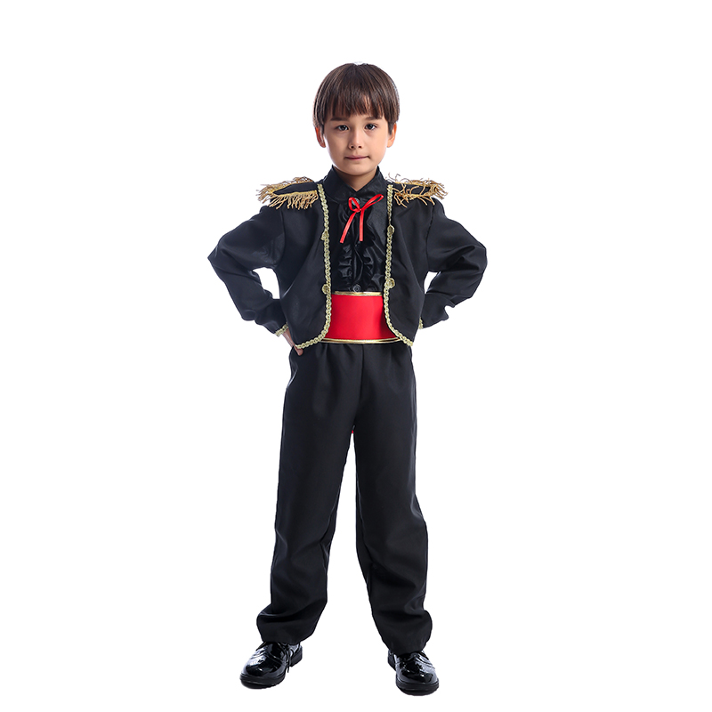 Matador Bull Fighter Spanish Child Fancy-Dress Costume