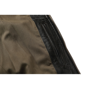 Image 5 - MAPLESTEED ยี่ห้อ Mens แจ็คเก็ตหนังแท้ 100% สีดำสีน้ำตาลหนา BOMBER ผู้ชายแจ็คเก็ตหนังฤดูหนาว 167