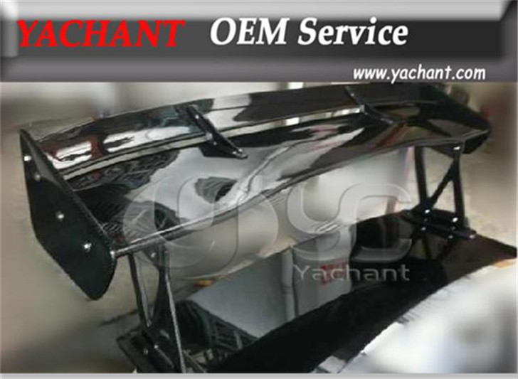 Aile GT 1500mm en Fiber de carbone avec pieds en prf pour aile GT de Style Mitsubishi Evolution EVO 7 8 9 VTX 2001-2007
