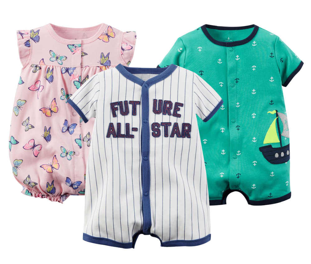 49bdcb22e5cff Detail Feedback Questions about Brand Baby Rompers Summer Baby Girl ...