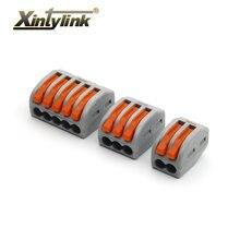 Xintylink 20/50/100 шт универсальный кабель провод разъема 222