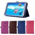 """Novo Luxo 2-Folding Leeche Folio Fique PU LEATHER Case de Proteção capa para asus memo pad 7 me70cx me70c k01a 7 """"7 polegada Tablet"""