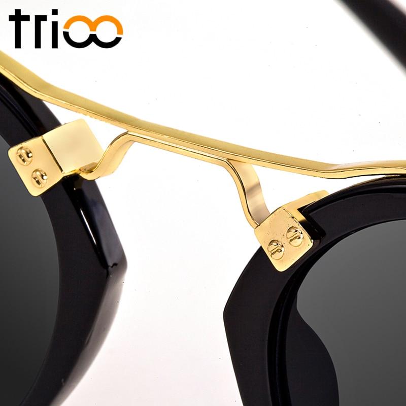 TRIOO მცირე მრგვალი სათვალე - ტანსაცმლის აქსესუარები - ფოტო 5