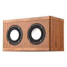 Shinco W10 Wood Wireless Bluetooth Speaker Mobile Tablet PC Desktop Audio Car Computer Mini Subwoofer Small Speaker