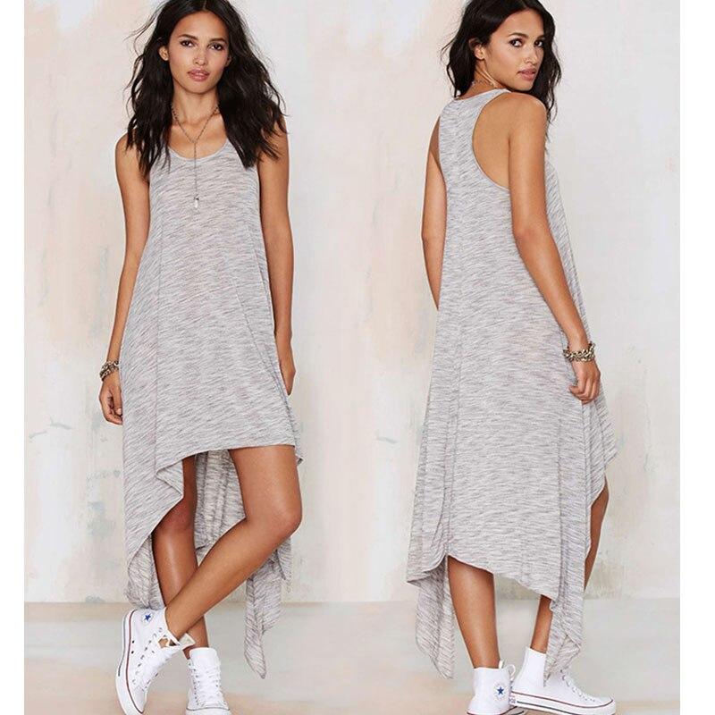 Casual Maternity Dresses Vest Pregnancy Dress Cotton ...