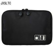 Waterproof Ipad organize bag travel storage bag For USB data cable earphone wires pen power bank kit case digital gadget devices